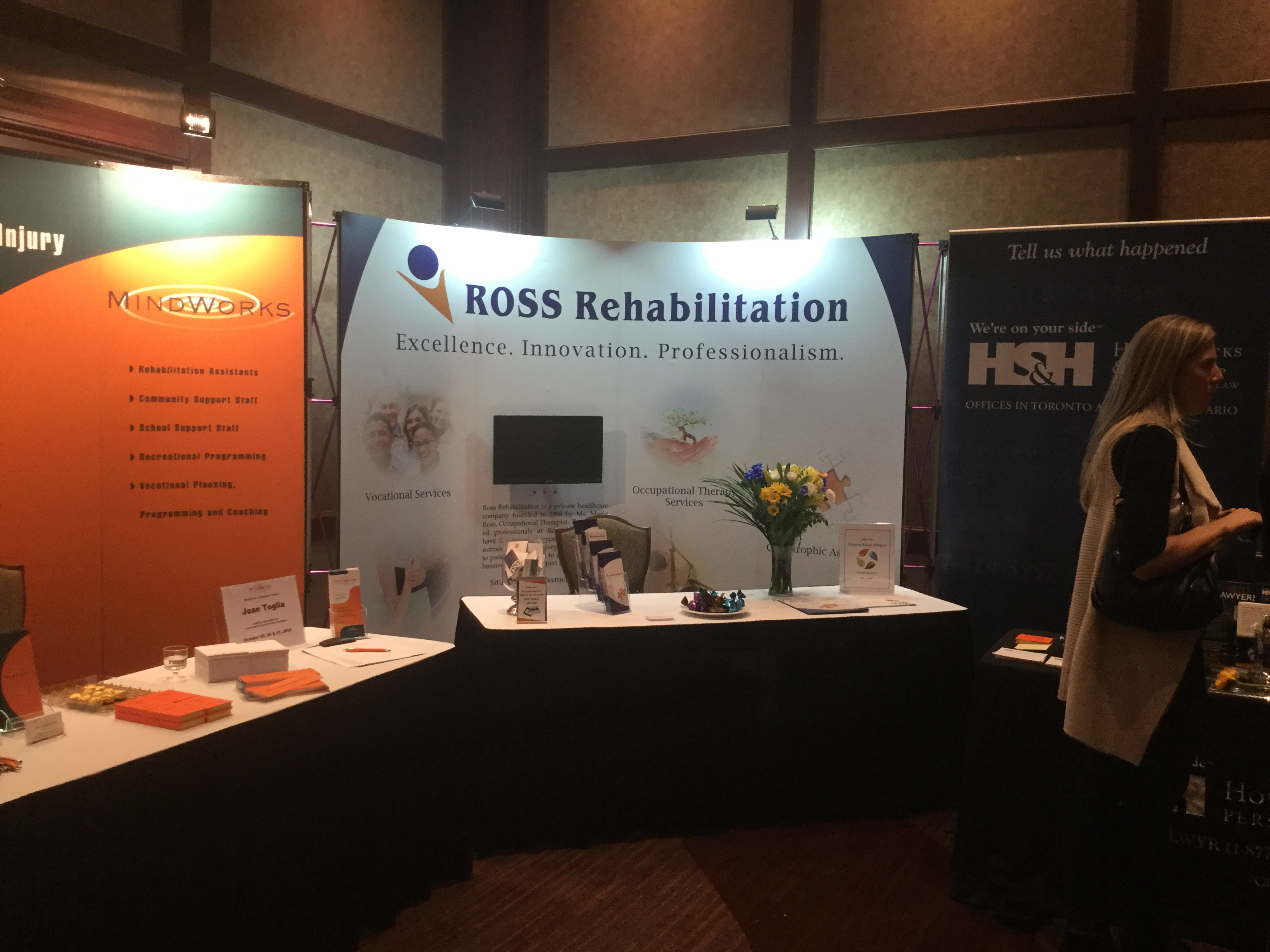 Ross Rehab Presenting Exhibitor Booths At The Following Fall Conferences Ross