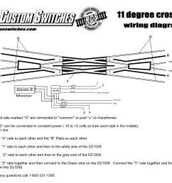 using dz1008 11 degree crossing [ 3300 x 2550 Pixel ]