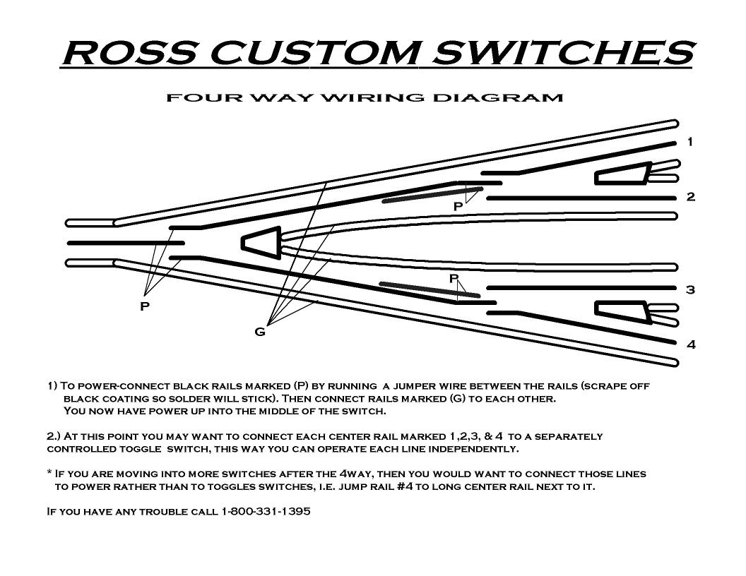 4 way switch wiring diagram power at light 2016 ford f150 rear view mirror technical manual