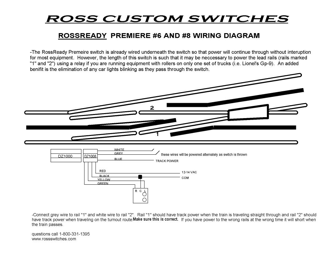 hight resolution of technical rh rossswitches com at ross 4 way yard switch 39 for four way