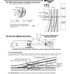 dz1000 switch machine instructions faq dz1000 switch machine instructions lionel train track switches wiring diagram  [ 816 x 1056 Pixel ]