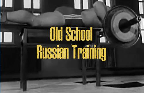 Old school Russian training