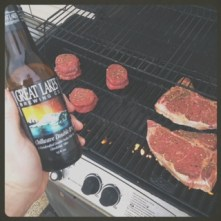 Grilling and drinking go hand in hand.