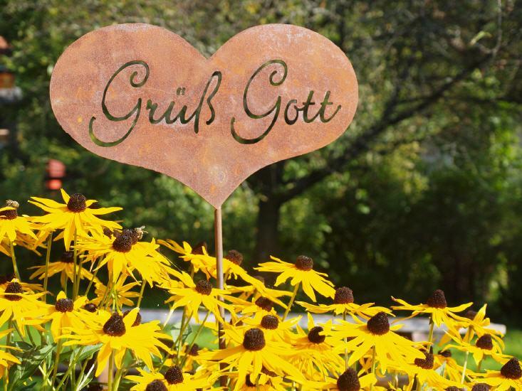 Rost Deko  Edelrost ist Gartentrend  Geschenkidee und