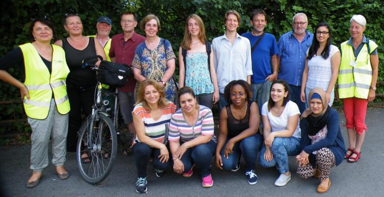 IFFM mit Flüchtlingsfrauen.
