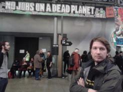 Alternativer Klimaschutzkongress in Paris.