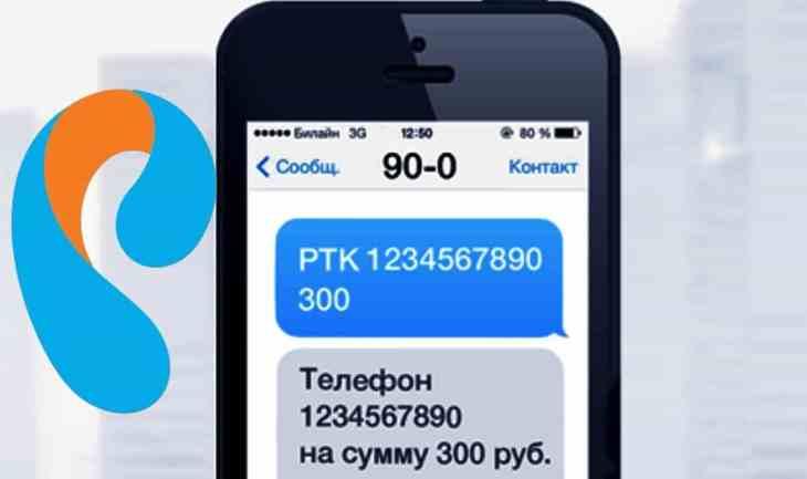 Kak oplatit' internet i domashniy telefon Rostelekom SMS-komandami?