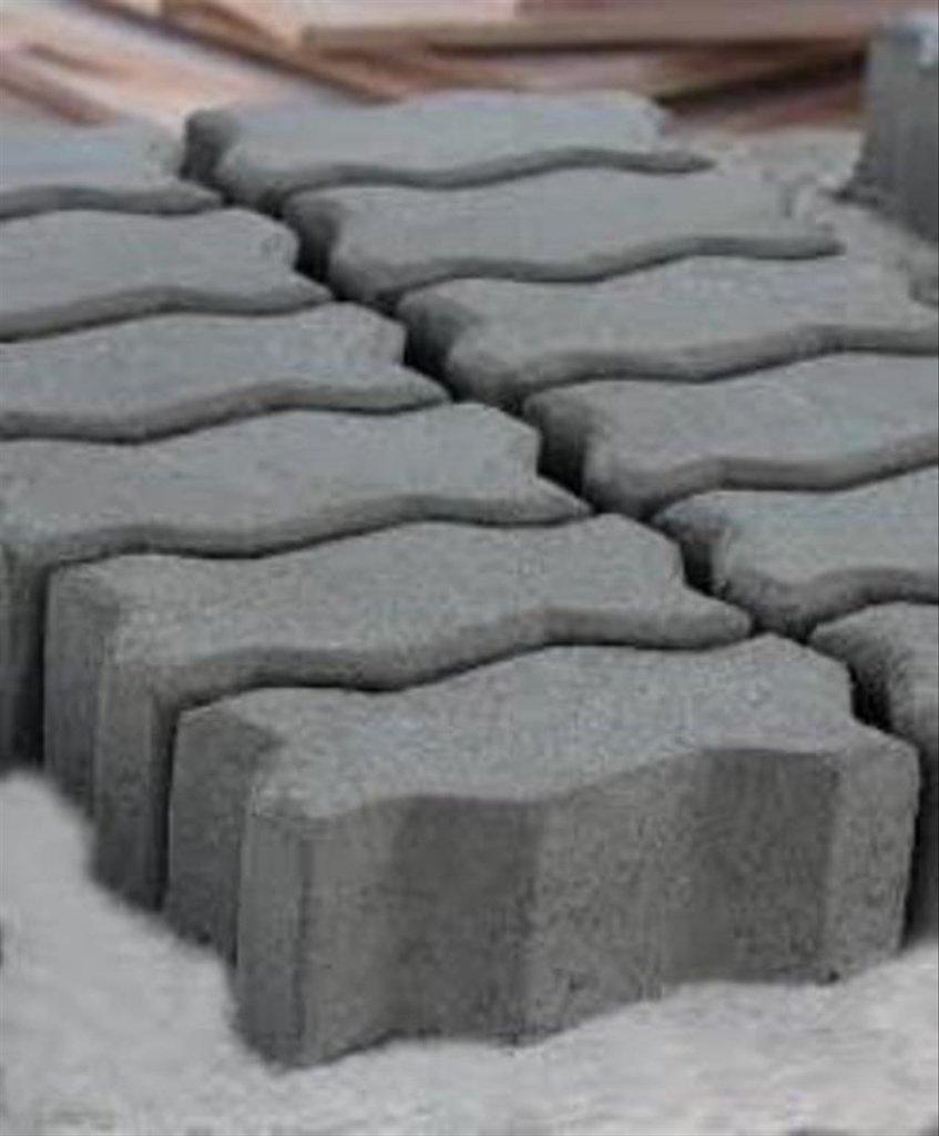 paving block model cacing