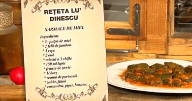 Rețete Culinare Mâncare de Miel - Imagini Video cu Stela Popescu și Mircea Dinescu