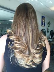 california blend hair color technique