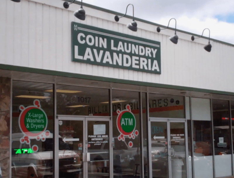 front of roswell laundry