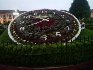 El fantástico reloj floral, único en su tipo