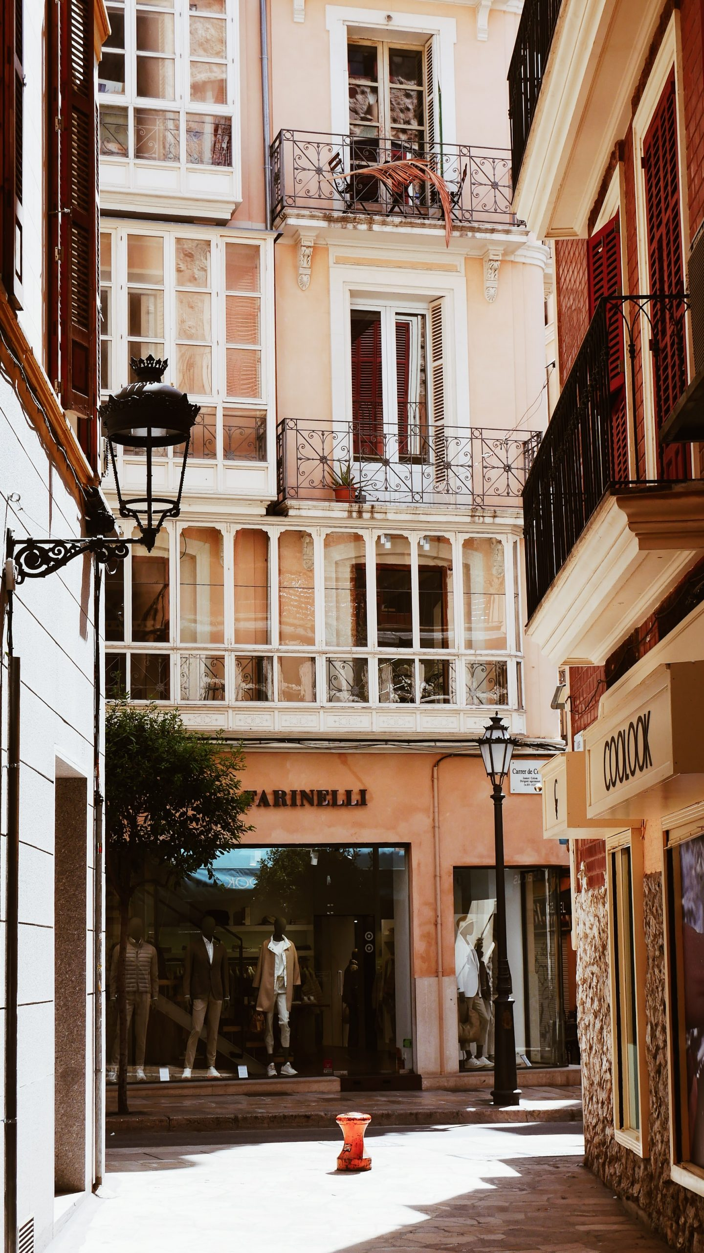 a pretty street in a centre of mallorca, reasons to visit mallorca, spanish islands to visit