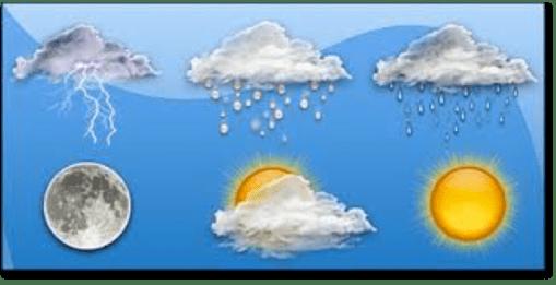 Se prevén lluvias puntuales fuertes en Baja California y chubascos en el oriente y el sur de México