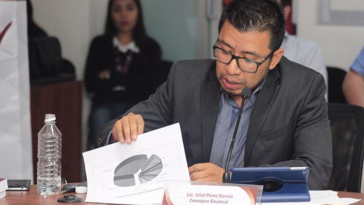 Por finalizar cómputo de elecciones para Concejales: 94% de avance: Uriel