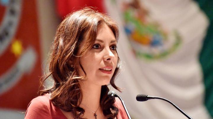 Bancada del PAN eligió a la oaxaqueña Alejandra García Morlan para la Vicepresidencia de la Mesa Directiva de la Cámara de Diputados Federal