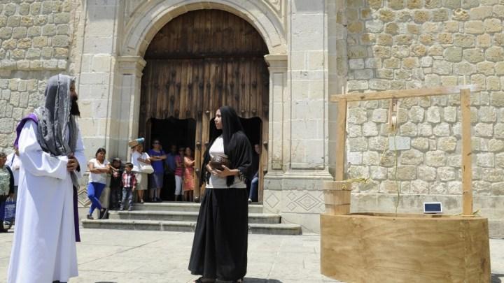 """Como cada año, turistas y oaxaqueños celebraron """"La Samaritana"""""""