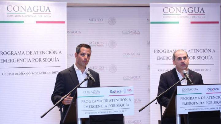 Anuncian Alejandro Murat y Ramírez de la Parra 345 mdp para combatir la sequía en Oaxaca