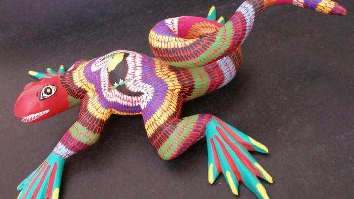 Expo ferias artesanales en San Martín Tilcajete, por temporada decembrina