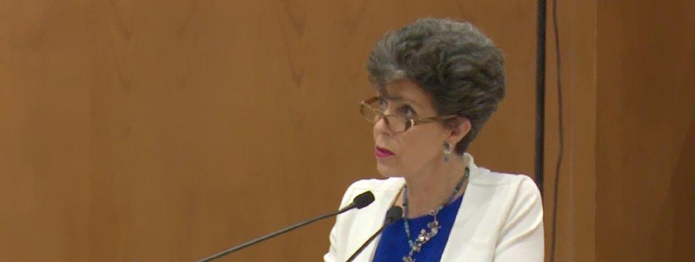 Responsabilidad de todos, que la democracia no muera: Janine Otálora
