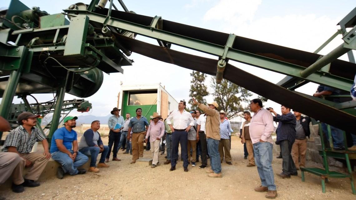 Al fin reactivan la planta de asfalto de Oaxaca de Juárez