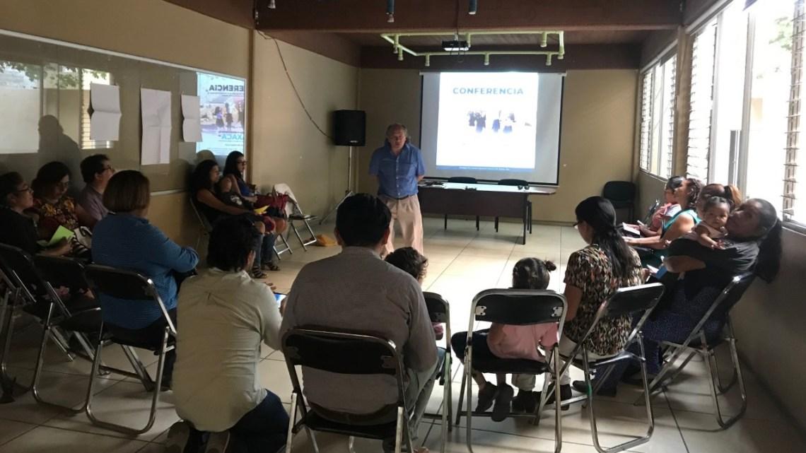 Imparten Conferencia sobre Derechos de la Niñez en Oaxaca