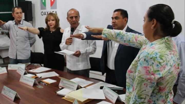 Se instala la Comisión de Procesos Internos del PRI en Oaxaca