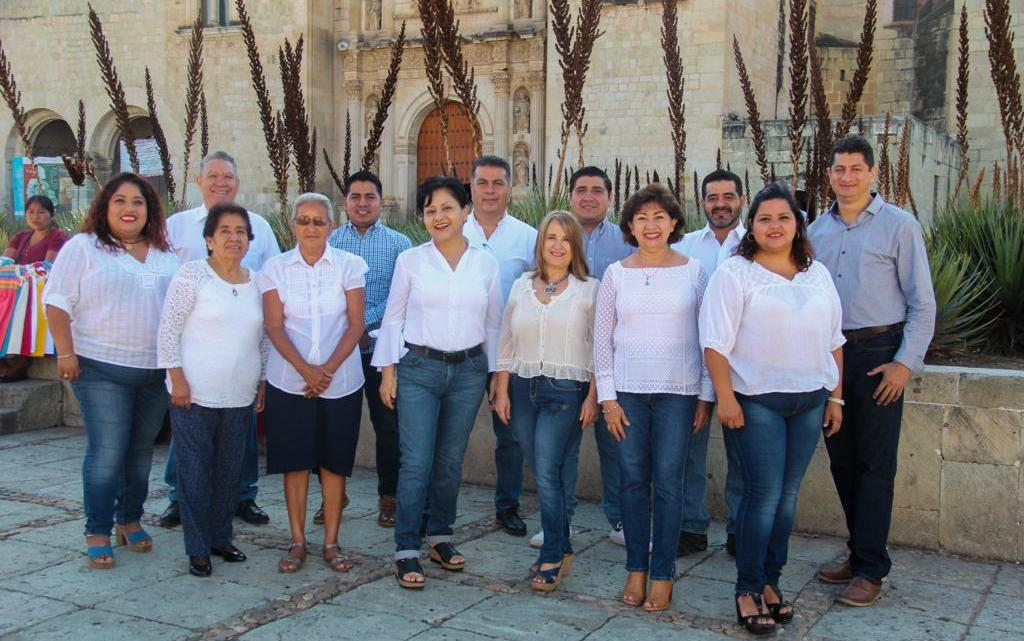 Aquí las y los integrantes del próximo Comité Municipal del PAN; es la planilla ganadora