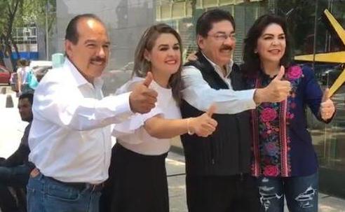 Ulises Ruiz llama a la militancia del PRI a votar por Ivonne Ortega para la dirigencia nacional de este partido