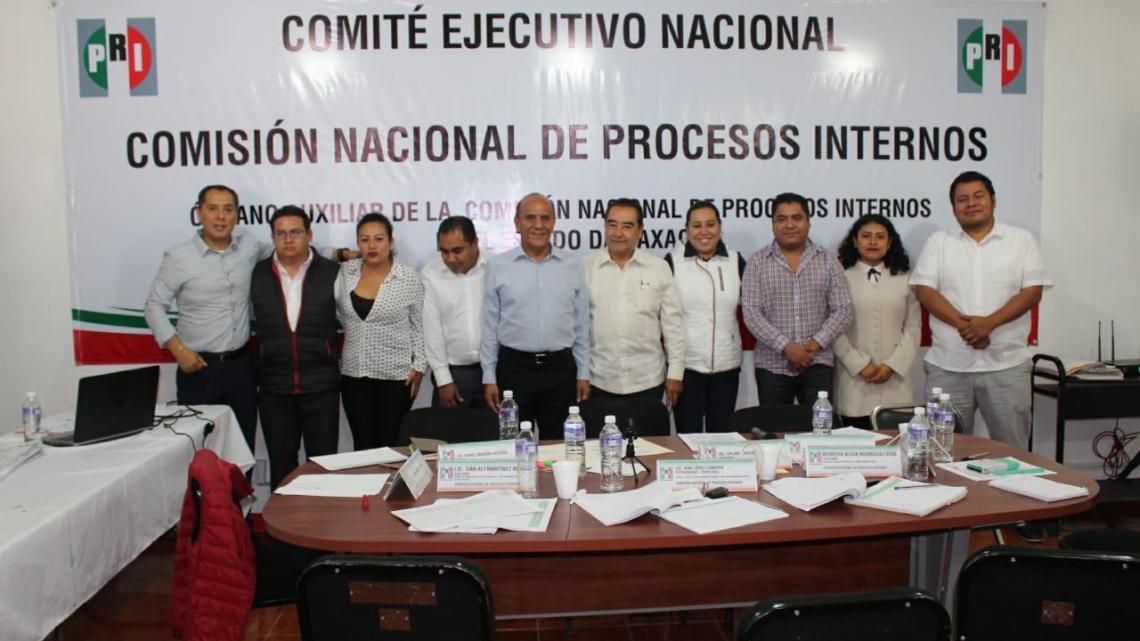Concluye cómputo en Oaxaca de elección de dirigencia nacional del PRI; participó el 82% del padrón priista y «Alito» ganó por 117 mil 759 votos: Órgano Auxiliar