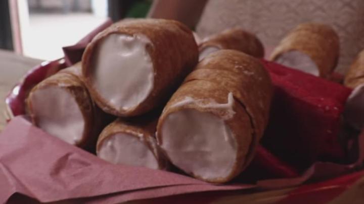 """""""Gaznate"""" dulce regional de Oaxaca desde 1920"""
