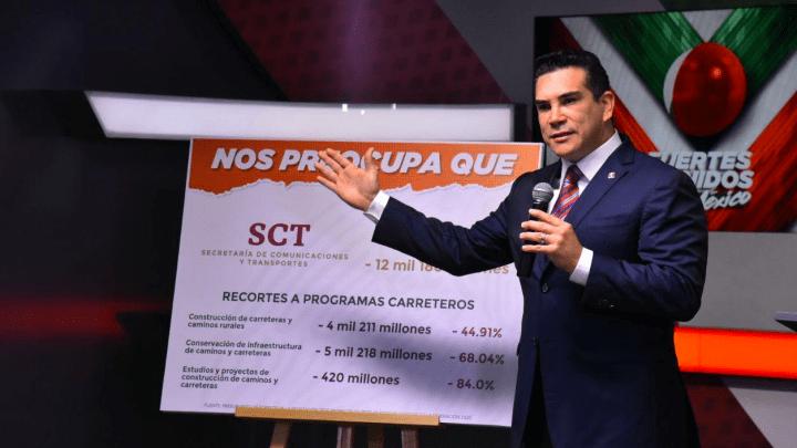 Según «Alito» el gasto presentado por el gobierno para el año próximo prioriza un asistencialismo electorero y populista, que afectará el crecimiento y desarrollo de México