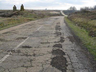 Exigen municipios mixtecos reparación de carretera en pésimas condiciones
