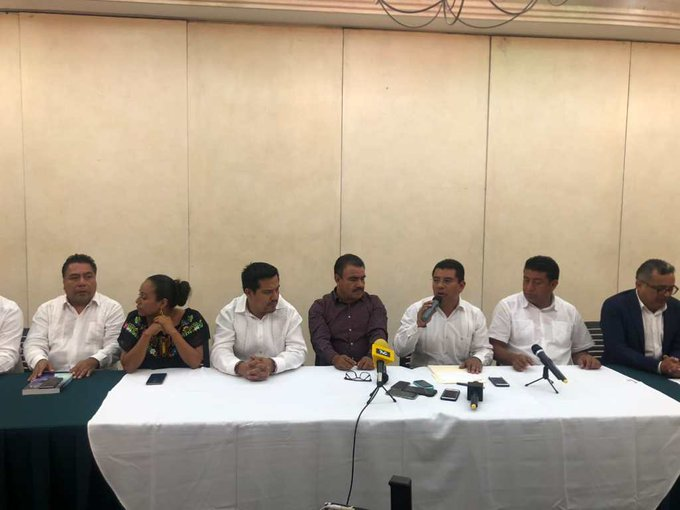 No están afiliados a MORENA pero presentan su candidato a dirigir este partido en Oaxaca; anónimo