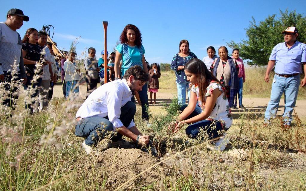 Se suma San Pedro Apóstol a campaña de reforestación del Partido Verde