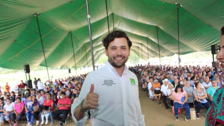 Crece el PVEM en el distrito de Zimatlán; suma otros 10 municipios del distrito