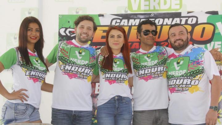 Respalda PVEM el campeonato Enduro Oaxaca 2019.