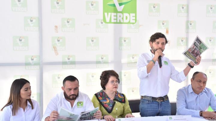 Presenta PVEM-Oaxaca gaceta informativa, órgano de difusión oficial