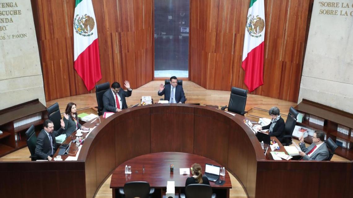 TEPJF apercibe a Morena a no resolver asuntos de carácter parlamentarios; y revoca petición para separar de la bancada de Morena en el Senado a Lilly Téllez