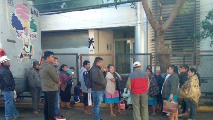 Inconformes bloquearon IEEPCO y TEEO; ya liberada la sede del Instituto