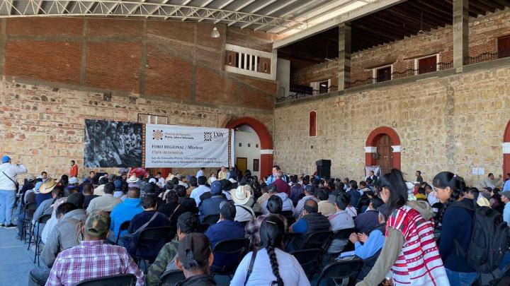 Con 8 foros regionales concluye  etapa informativa para construir la Ley de Consulta Indígena en Oaxaca