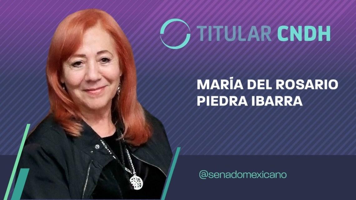 Rosario Piedra Ibarra, la presidenta de la CNDH