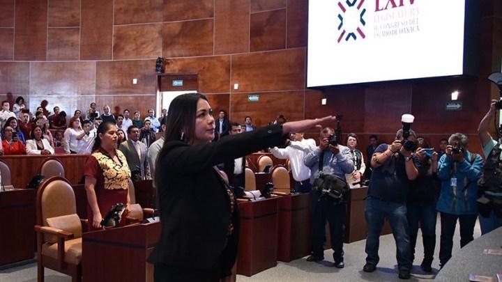 Maritza Scarlett Vásquez Guerra asume diputación local; Magda Isabel Rendón se fue
