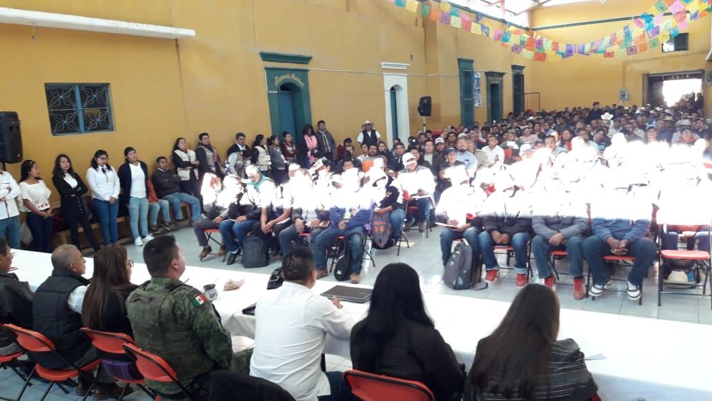 Se reúne Nancy Ortiz con 42 ediles del distrito de Tlacolula para reforzar cobertura de programas Bienestar