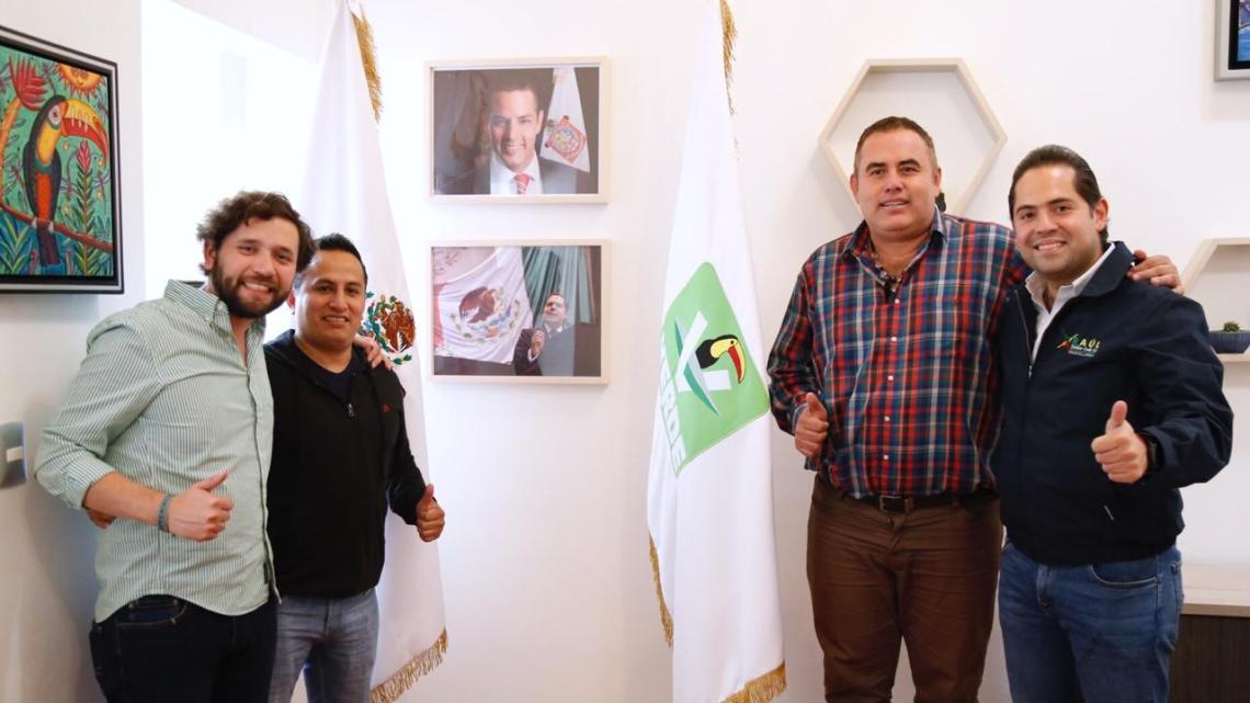 Ex presidentes municipales de Pluma Hidalgo y San Miguel del Puerto se suman al PVEM