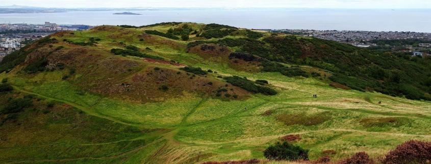 edinburgh scotland hill park green landscape view learning discipline continuous improvement rotana ty