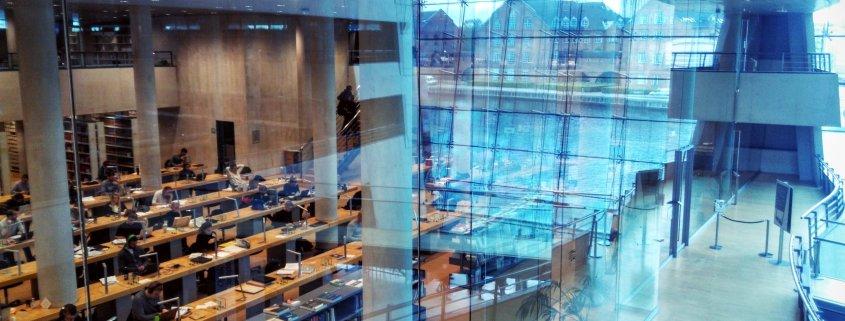 Slotsholmen Copenhagen Denmark library city work distributed leadership curiosity development growth rotana ty