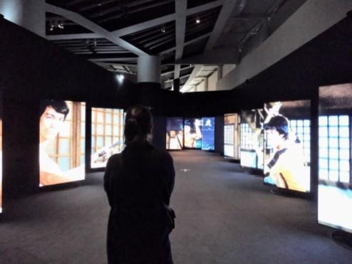 Exhibit 'Arts of fighting in Asia', Quai Branly Museum, Paris, France