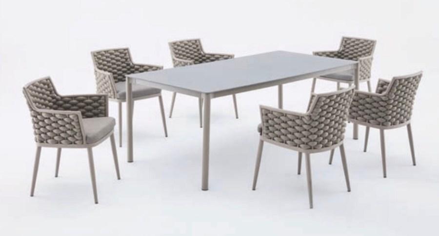 Стол и стулья Leon