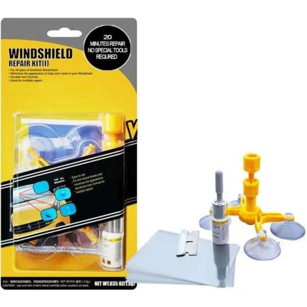 Glass Chip & Scratch Repair Kit